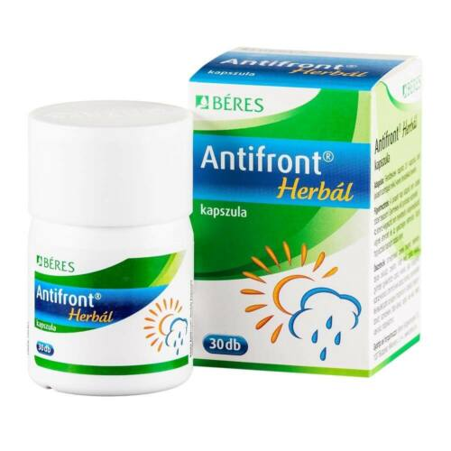 BÉRES ANTIFRONT HERBAL KAPSZULA 30X